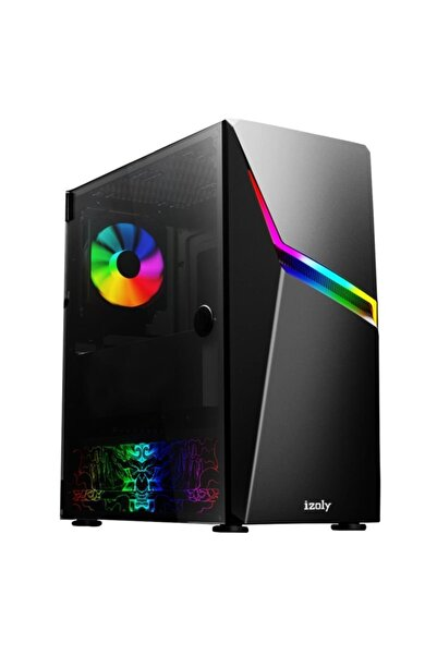 IZOLY Rebel Ti Ryzen 5 3600 8gb 256ssd M.2 + 500gb Gddr5 Gtx1050ti Ekran Kartlı Oyuncu Pc