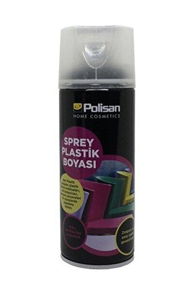 Polisan Plastik Yüzey Sprey Boyası Mat Siyah (Ral-9004) 400 ml.