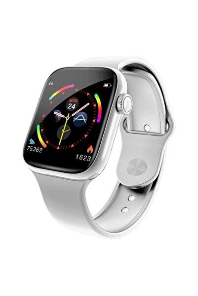 Shop4People Tam Dokunmatik Ekran W4 Su Geçirmez Akıllı Saat Bileklik ve Bilezik Spor (silver)
