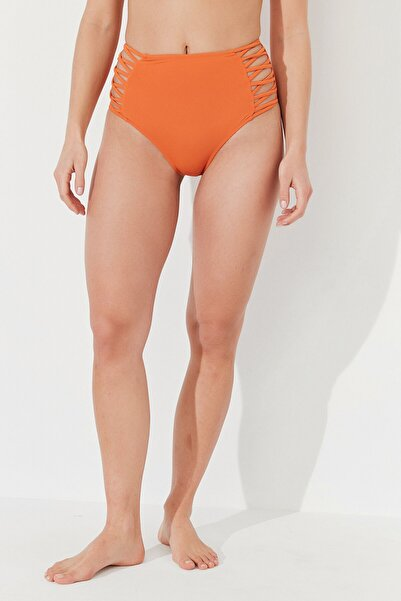 Penti Kadın Turuncu Basic High Fashion Bikini Altı