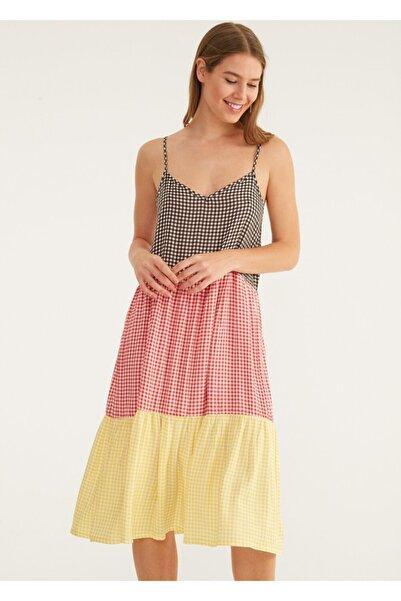 SUWEN Kadın Patched Plaj Elbisesi