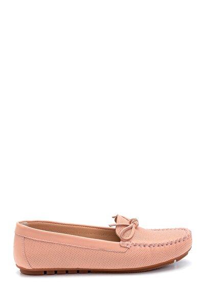 Derimod Kadın Deri Fiyonk Detaylı Loafer