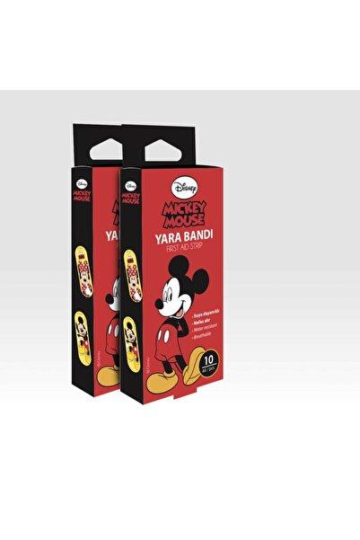 DISNEY Mickey Mouse Yara Bandı 10'lu +törpü