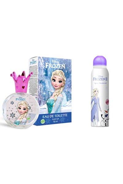 DISNEY Frozen Elsa 50 ml Edt Parfüm + 150 ml Deodorant