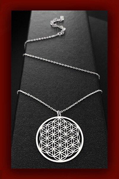 ROXX THE JEWELLRY Yaşam Çiçeği Kadın Gümüş Kolye