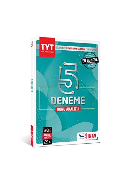 Sınav Yayınları Sınav Tyt 5 Deneme Konu Analizli 2021 Yeni Ürün Güncel Tyt 5 Deneme Sınavı