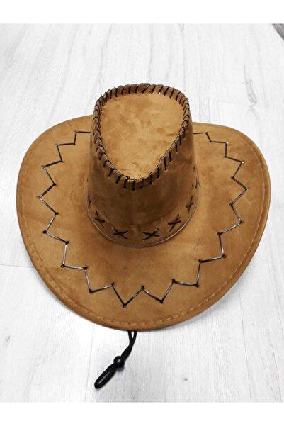 emirteks Süet Kovboy Şapka