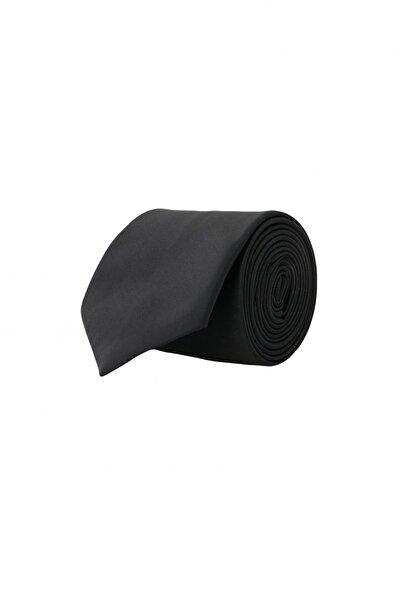 ALTINYILDIZ CLASSICS Erkek Siyah Siyah Klasik Su Geçirmez Nano Kravat