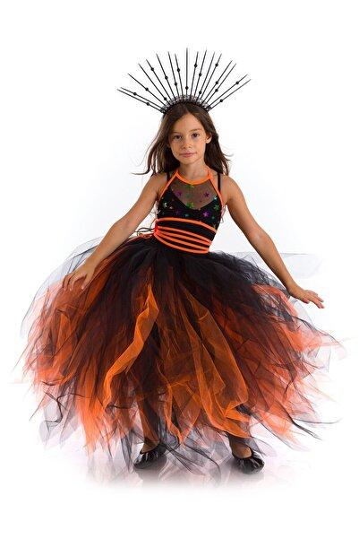 Tameris Kostüm Cadı Roxi Costümü Turuncu