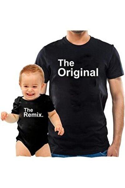 The Original The Remix Siyah Tshirt Zıbın (baba Oğul Kombin Yapılabilir Fiyatlar Ayrı Ayrıdır)