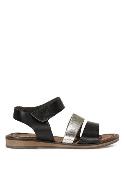 İnci LEON.Z 1FX Siyah Kadın Sandalet 101038317