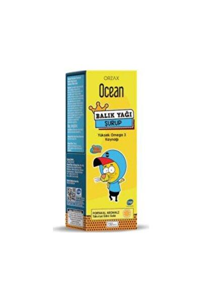 Ocean Ocean Portakal Aromalı Balık Yağı Şurubu 150 Ml