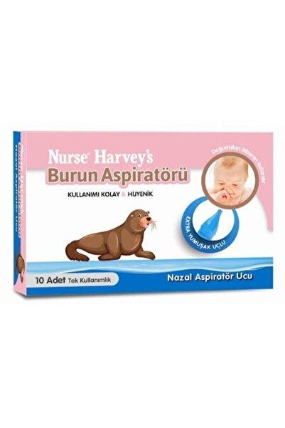 Nurse Harvey's Burun Aspiratörü Yedek Ucu 10 Adet