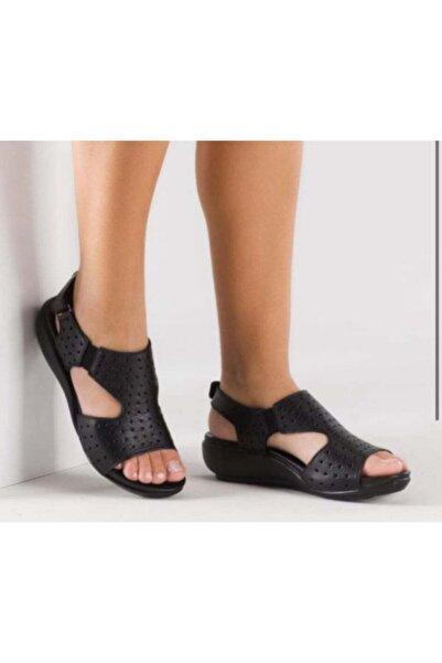 Zeyn Siyah Sandalet