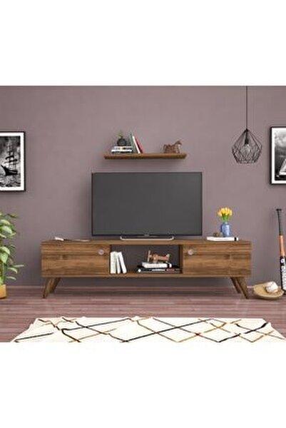 Bena Mobilya Emre Haliç Ceviz 140 Cm Tv Sehpası