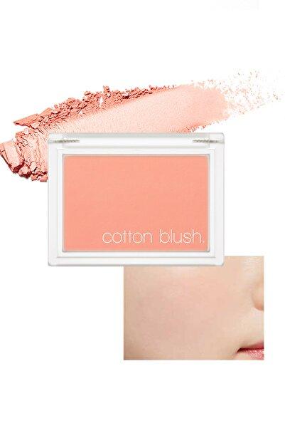 Missha Yumuşak Dokulu Kolay Sürülebilen Allık Allık Cotton Blusher (Picnic Blanket)