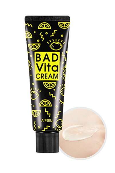 Missha 15 Farklı Vitamin içeren Canlandırıcı Nemlendirici Krem 50g APIEU Bad Vita Cream