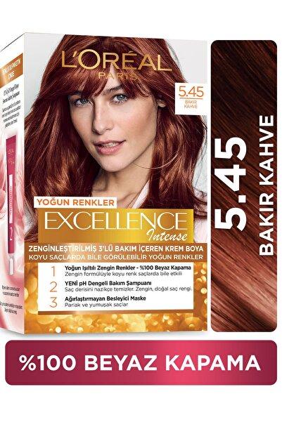 L'Oreal Paris L'oréal Paris Excellence Intense Saç Boyası  5.45 Bakır Kahve