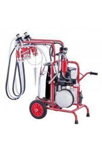 Kurtsan Çift Sağım Yağlı Pompa Paslanmaz Çelik Tek Güğüm 40 L Süt Sağım Makinası