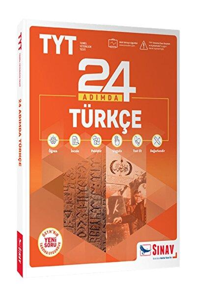 Sınav Yayınları Sınav Yks Tyt Türkçe 24 Adımda Konu Anlatımlı Soru Bankası