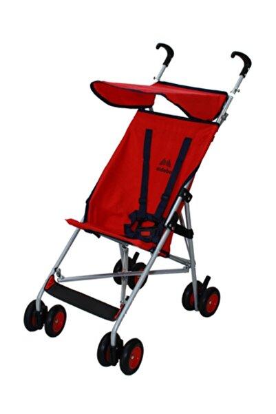 ALDEBA Kırmızı Hafif Pratik Baston Puset Bebek Arabası