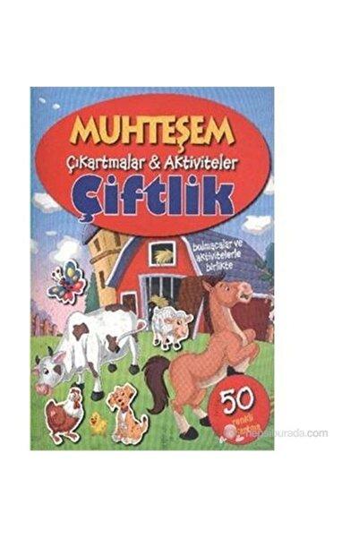 Parıltı Yayınları Çiftlik / Muhteşem Çıkartmalar Aktiviteler -