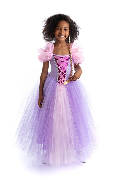 Tameris Kostüm Rapunzel Elbisesi Payetli