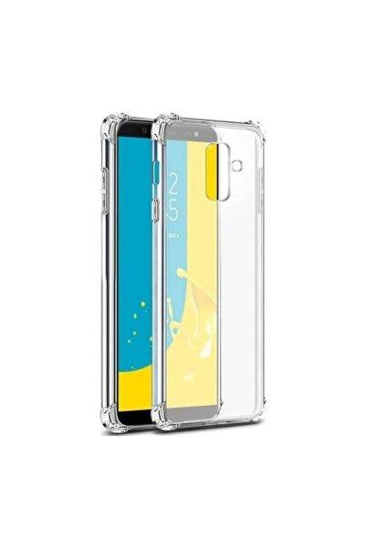 Samsung Galaxy J8 Kılıf Köşe Korumalı Anti Şok Sert Silikon