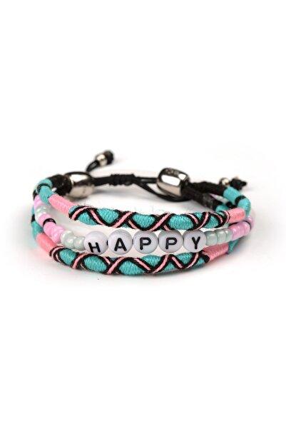 Happy-Nes Happy Boncuklu Bileklik