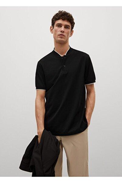 MANGO Man Erkek Hakim Yakalı Pamuklu Polo Gömlek