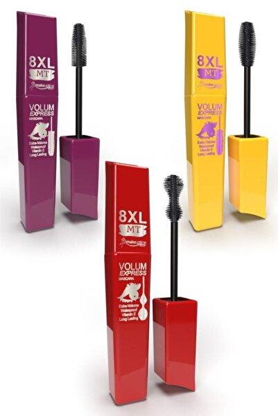 MT Makeuptime 8 Xl Volum Express Mascara 3'lü Set