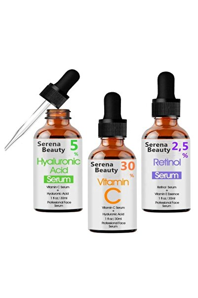 Serena Vitamin C  Hyaluronic Acid  Retinol  Yüksek Etken Maddeler