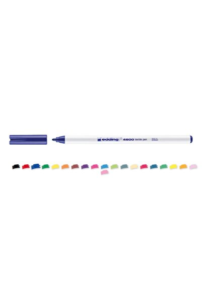 Edding 4600 Kumaş Boyama Kalemi 1.0mm Mavi