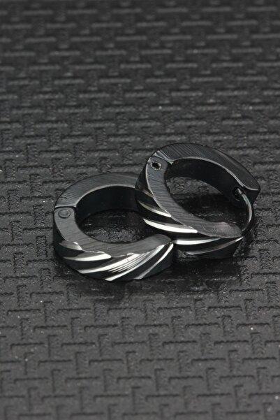 depozoom Cerrahi Çelik Çelik Halka Küpe 8mm