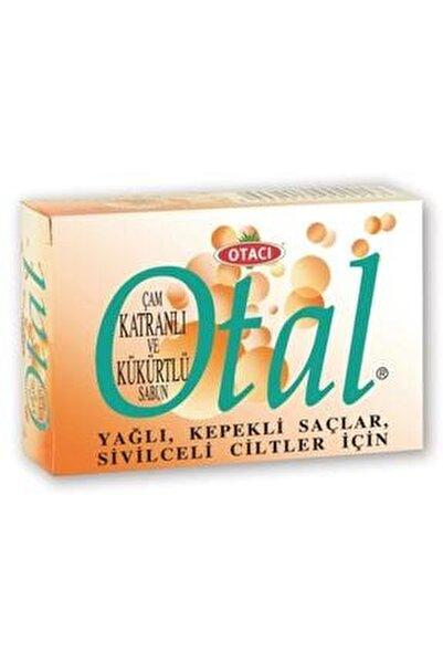 Otal Çam Katranlı Ve Kükürtlü Sabun 80 gr Yağlı Kepekli Saç