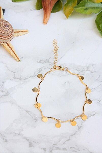 shey butik Kadın Halhal Gold