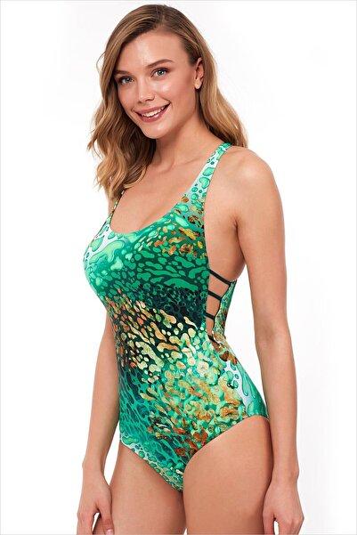 AYYILDIZ Kadın Yeşil Mayo 1105