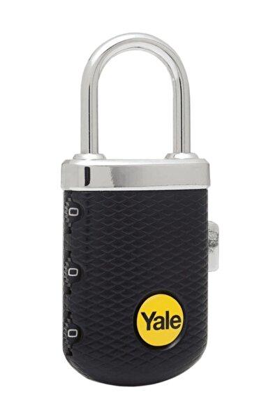 Yale Zarif Tip Şifreli Asma Kilit Siyah - Yp3/31/123/1k