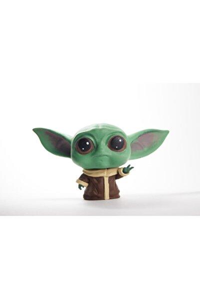 dream3d Baby Yoda Koca Kafa Figür Bebek Yoda - Star Wars - 7 Cm