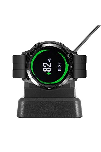 Haweel Huawei Watch Gt- Gt2 -gt2e Magic - Dream Şarj Kablosu Stand
