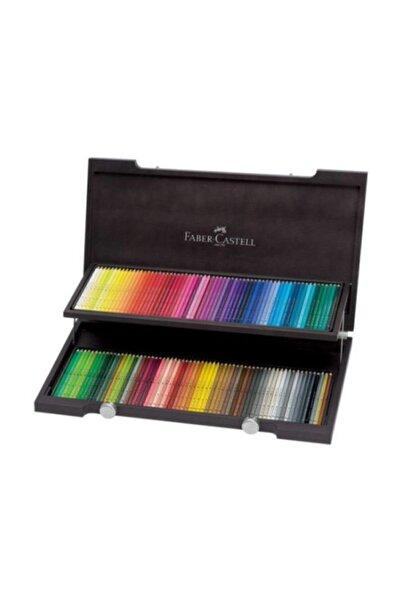 Faber Castell Polychromos 120 Renk Ahşap Kutu Kuru Boya