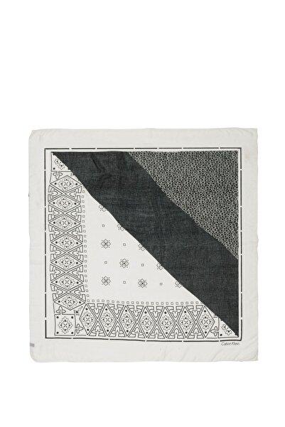 Calvin Klein Salmon Kadın Bandana Print Şal K60k604249