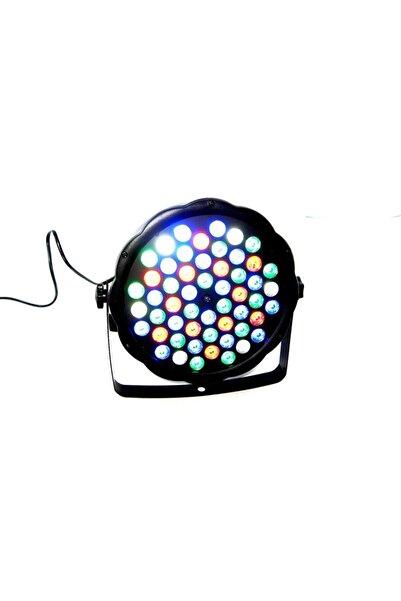 Bigem 54x3 Ledpar Robot Işık Robotu Flaşör Disko Topu Parti Yılbaşı Süsü