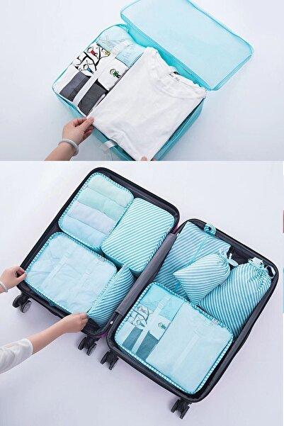 Vivyan Anne Bebek Hastane Çantası Düzenleyici 6'lı Bavul Ve Valiz Düzenleyici Seyahat Organizer