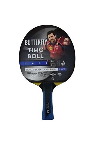 BUTTERFLY Timo Boll Black Masa Tenis Raketi