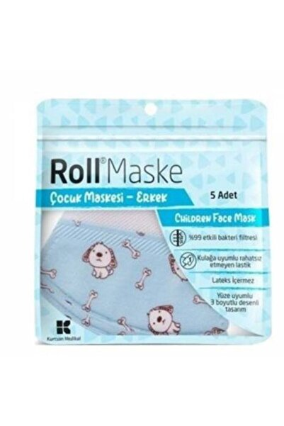 Roll Çocuk Maske