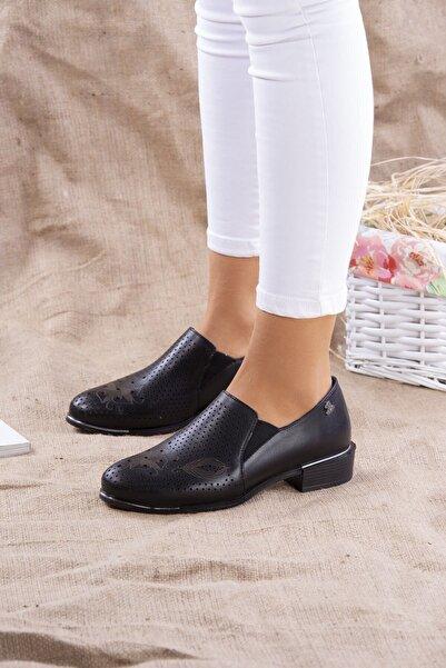 Venüs Kadın Siyah Ayakkabı