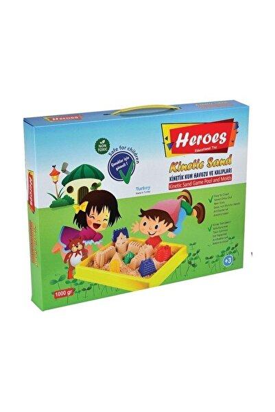Kinetic Sand Heroes Kinetik Kum 1000 Gr. Kinetik Kum Havuzlu Kltbdr051