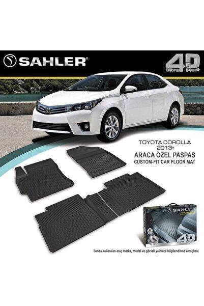 Sahler Toyota Corolla 2014- Sonrası 4.5d Havuzlu Paspas