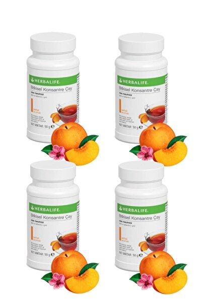 Herbalife 4 Lü Çay Seti 4 Adet 50 gr Şeftali Aromalı